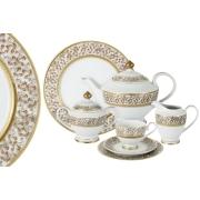 Чайный сервиз 42 предмета на 12 персон Рапсодия
