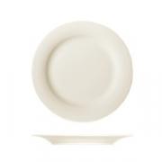 Тарелка пирожковая «Рафинез», фарфор, D=16см, слон.кость