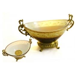 Декоративная ваза для фруктов 34х21х19 см «Шенансо»