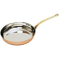 Сковорода d=22см медная