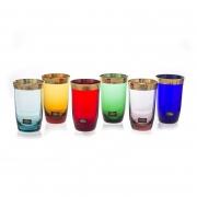 Набор стаканов 250 мл. 6 шт «Джесси Колорс»