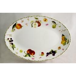 Овальное блюдо «Фруктовое ассорти» 38х26 см