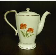Чайник 1л с крышкой «Красный мак»