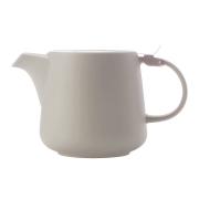 Чайник с ситечком Оттенки (серый) в индивидуальной упаковке