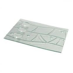 Тарелка «Криэйшнс» 48*40см стекло