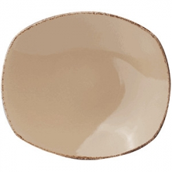 Тарелка овал «Террамеса вит» 20.25см