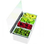Контейнер для фруктов 4 отделения обьем 1-го отдел.710мл