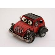 Автомобиль с глазами красный 11х18х15см