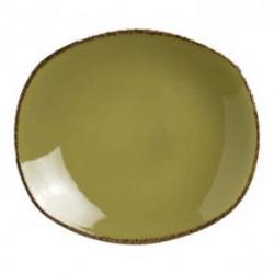 Тарелка овал «Террамеса олива» 25.5см