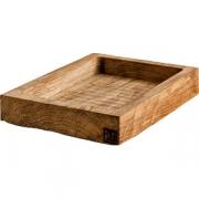 Ящик для подачи прямоуг.с бортом «Снег» светлый дуб