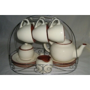 Чайный сервиз из 15 предметов на 6 персон «Сардиния»