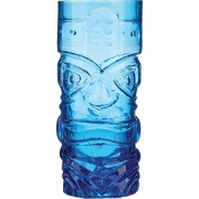 Стакан для коктейлей «Тики» D=73, H=165мм; синий