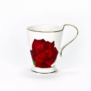 Кружка «Муг» 300мл «Черная роза»