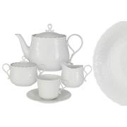Чайный сервиз 17 предметов на 6 пресон Шёлк