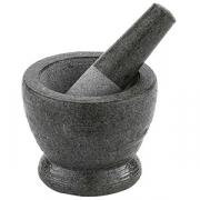 Мадлер со ступкой; нат.камень; 260мл; D=90,H=105мм