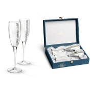 Набор бокалов для шампанского «Регина Сваровски»