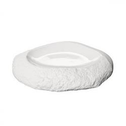 Тарелка для презентаций «Рока» D=31см; белый, матовый