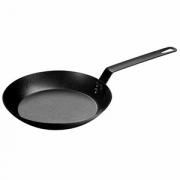 Сковорода, карб.сталь, D=250,H=45,L=480мм, черный