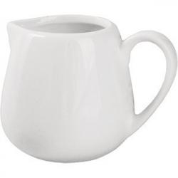 Молочник «Кунстверк», фарфор, 200мл, D=60,H=80,L=110,B=85мм, белый
