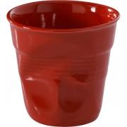 Стакан для кофе «Фруассэ» фарфор; 120мл; красный