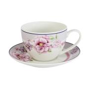 Чашка с блюдцем Цветочная феерия