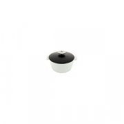 Кастрюля для сервировки с крышкой «Революшн» D=19, H=12.5см; черный