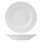 Блюдо для пасты «Кунстверк», фарфор, 600мл, D=305,H=36мм, белый