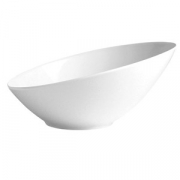Салатник «Монако вайт» 21.5см фарфор