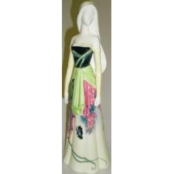 Статуэтка «Девушка с зеленым платком» 30 см
