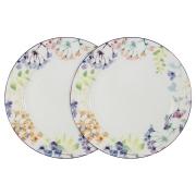 Набор из 2-х обеденных тарелок Акварель