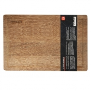 Доска разделочная, 40х30х2 см, деревянная
