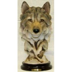 Статуэтка «Голова волка»