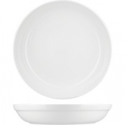 Блюдо глубокое фуршетное «Диверс» D=35, H=4.5см; белый