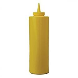 Емкость для соусов 350мл желтая
