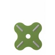 Подставка под горячее «Плюс» (Plus) Rosti Mepal 19,5 x 19,5 x 0,8см (зеленый)