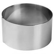 Кольцо кондитерское «Проотель», сталь, D=80,H=35мм, металлич.