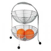 Этажерка для фруктов, сталь нерж., H=35.5см