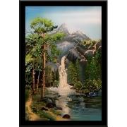 Водопад чудес, 35х50 см, 3077 кристаллов