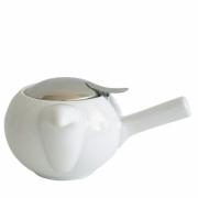 Чайник с ситечком 480мл цвет: Белый