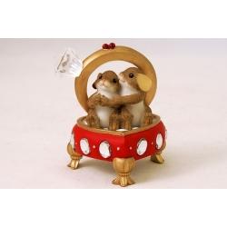 Статуэтка «Мышки в кольце»