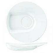 Блюдце «Максим» 15см фарфор