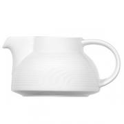 Чайник без крышки «Карат»; фарфор; 350мл; белый