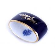 Кольцо для салфетки «Ювел синий»