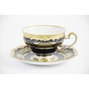 Набор чайный 210 мл на 6 перс. 12 пред. подарочный «Симфония Кобальт»