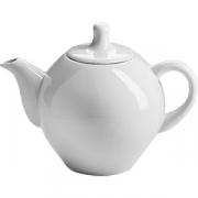 Чайник «Трактирный» фарфор; 350мл; белый