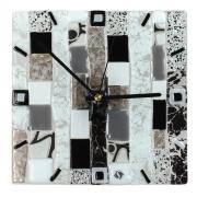 Часы 22х22 см настенные Черно-белая коллекция