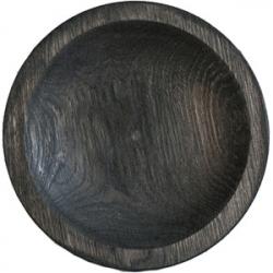 Тарелка «Круг» темный дуб