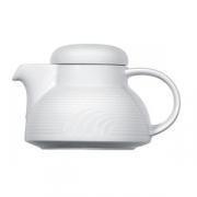 Чайник «Карат», фарфор, 300мл, D=110/45,H=80,L=150мм, белый