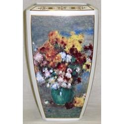 Ваза «Цветные мотивы», 31 см, фарфор, серия Renoir