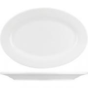 Блюдо овал. «Кунстверк» H=1.5, L=20, B=14см; белый